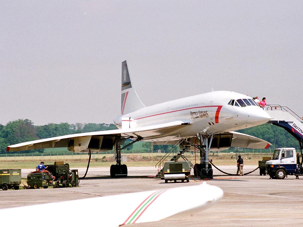 BAC/Aerospatiale Concorde G-BOAB