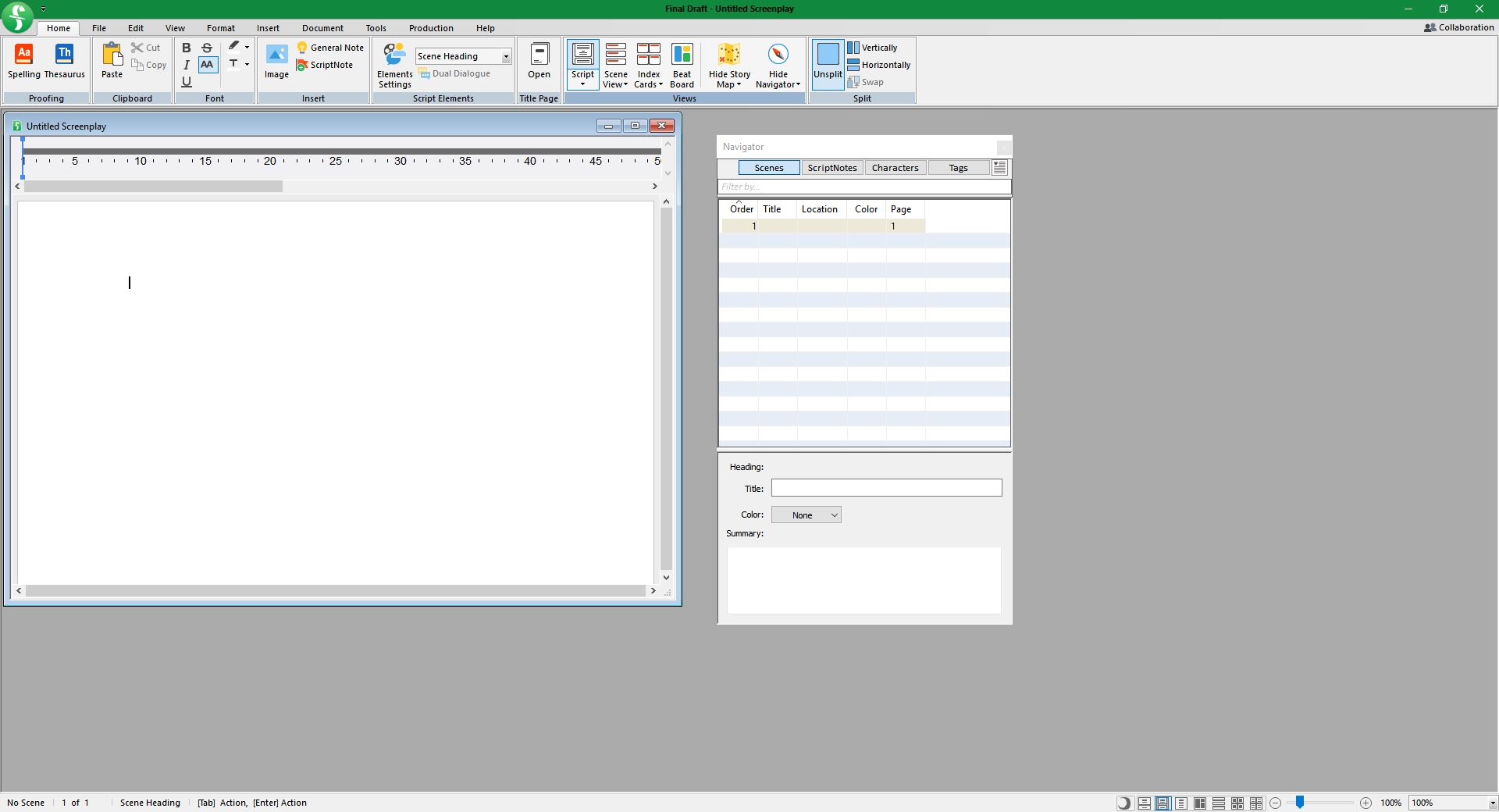 Working with Final Draft 11 Build 33 full license