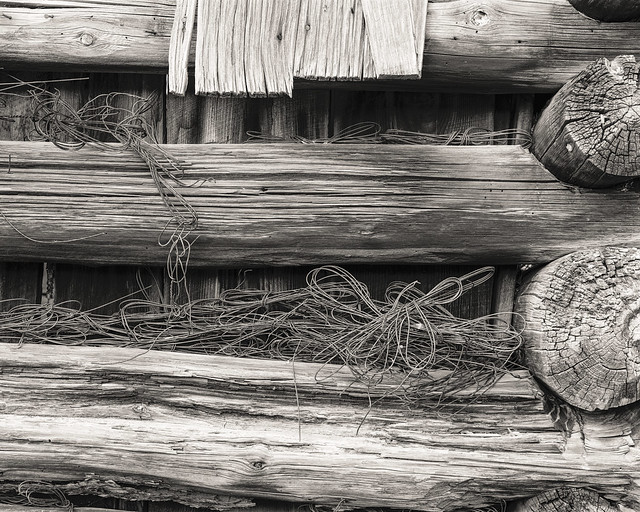 BARN WOOD and WIRE - Alpine, Arizona