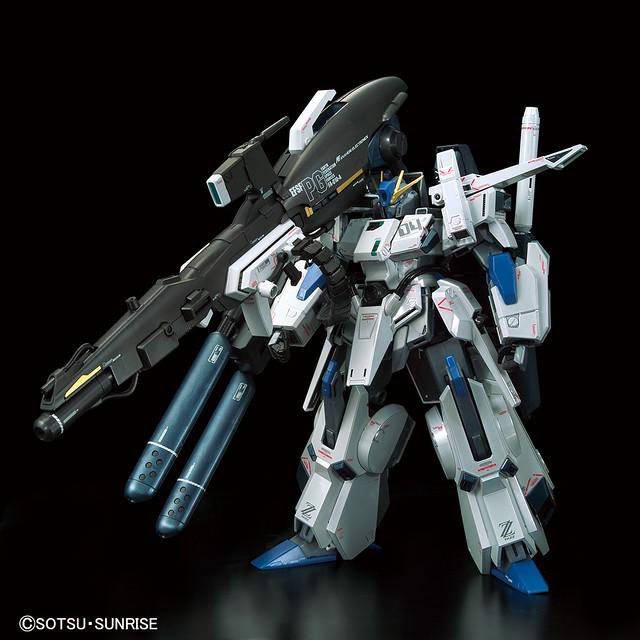 【GUNDAM BASE限定】電鍍零件更具厚重感! MG 1/100《鋼彈前哨戰》FAZZ Ver.Ka 鈦合金質感Ver.