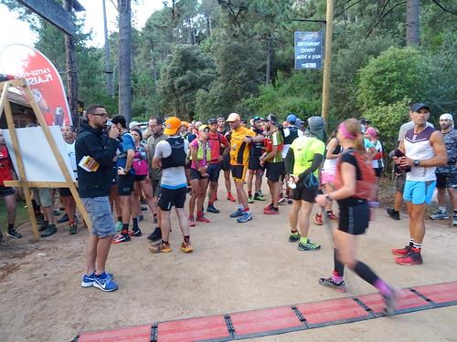 Les concurrents juste avant le départ vers 06h30
