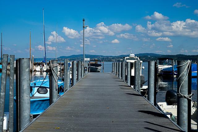 fishery port Unteruhldingen, Lake Constance