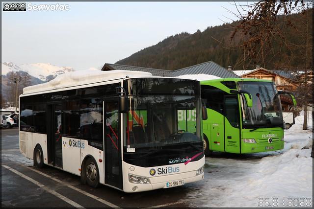 Otokar Vectio 250 LE – Gavot Tourisme / Les Gets Bus n°121