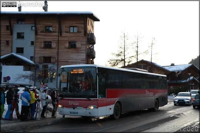 Mercedes-Benz Intouro – SAT Thonon (SA des Autos Transports du Chablais et du Faucigny) / Auvergne-Rhône-Alpes / Lihsa (Lignes Interurbaines de Haute-Savoie) n°314