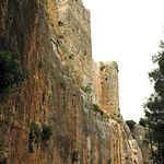 Qalaat Salah al-Din (Citadel of Saladin) c.975 Byzantine Walls south & Rectangular Tower Franks (1e)
