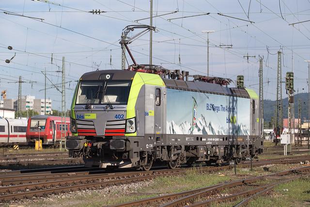 BLS Re 475 402 Basel Badischer Bahnhof