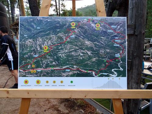 L'affichage de la photo 3D du parcours