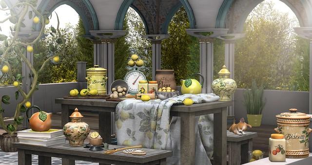 Look 1318 - Limoni e Arancia
