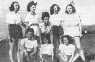 L'équipe féminine de basket de l'USO