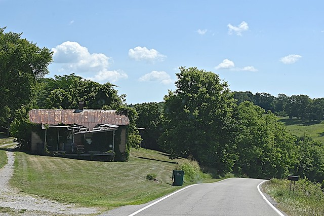 Backroad in Central Kentucky