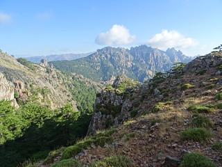 Sur le chemin du sommet du Monte Calva (1381m)