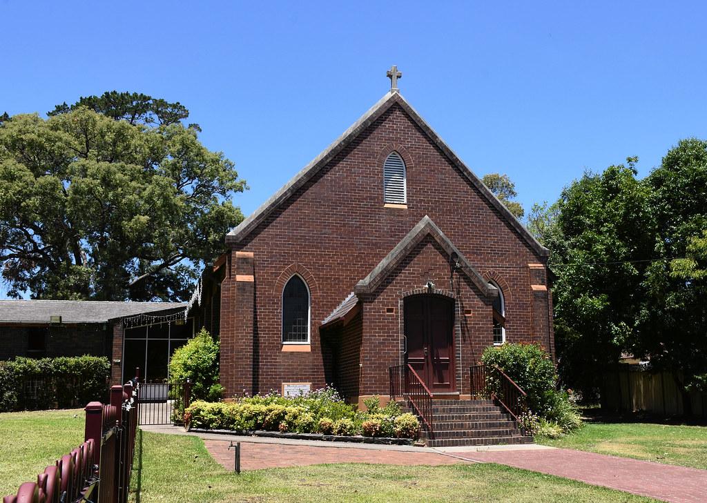 St Barnabas Anglican Church, Ingleburn, Sydney, NSW.