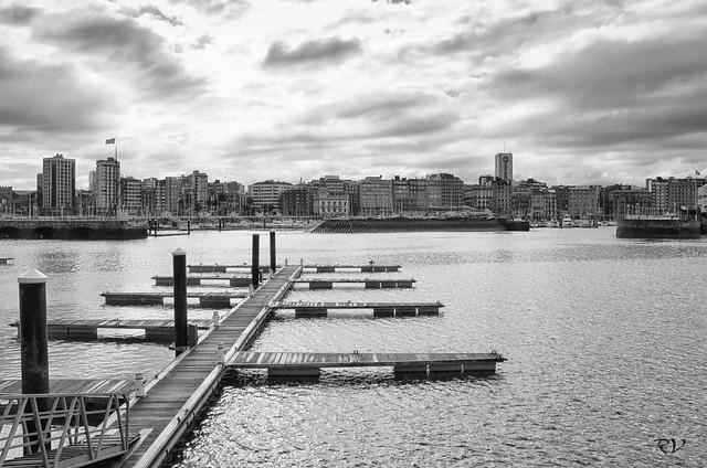 Puerto deportivo-Gijón