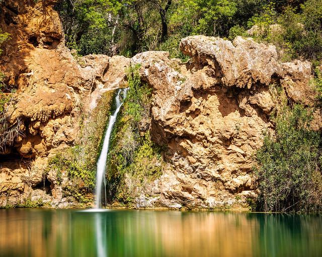 Pozas para bañarse en mitad de la naturaleza en Algarve