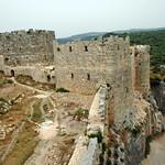 Qalaat Salah al-Din (Citadel of Saladin) c.975 Byzantine Master & Square Towers Franks (3e)