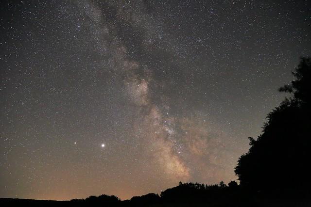 Milky Way over Dartmoor