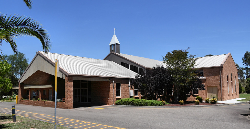 Our Lady of Mt Carmel Parish Catholic Church, Varroville, Sydney, NSW.