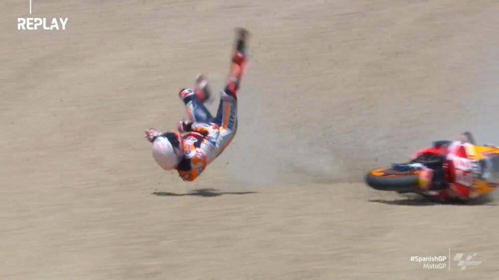 Marquez Crash Jerez 2020