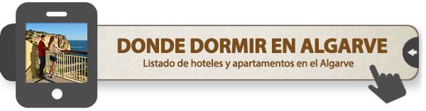 Selección de sitios donde dormir en el Algarve