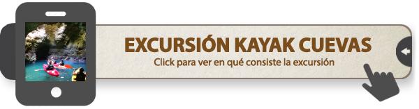 Excursión en kayak por las cuevas del Algarve