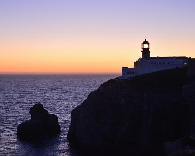 Faro del Cabo de San Vicente, de los lugares imprescindibles que ver en el Algarve portugués