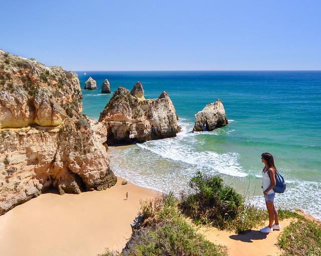 Senderismo por las playas del Algarve