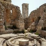 Qalaat Salah al-Din (Citadel of Saladin) c.975 Byzantine Palace Ayyubid Central Courtyard (2)