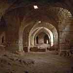 Qalaat Salah al-Din (Citadel of Saladin) c.975 Byzantine Master Tower (donjon) Franks Pillared Hall (1e)