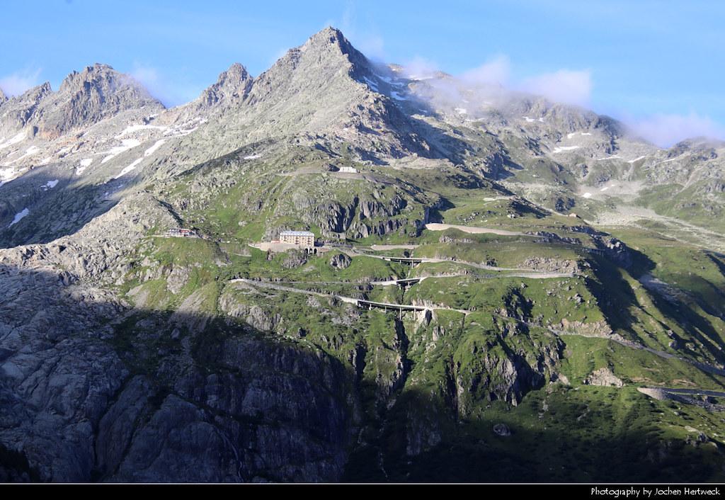 Furkapass, Wallis, Switzerland