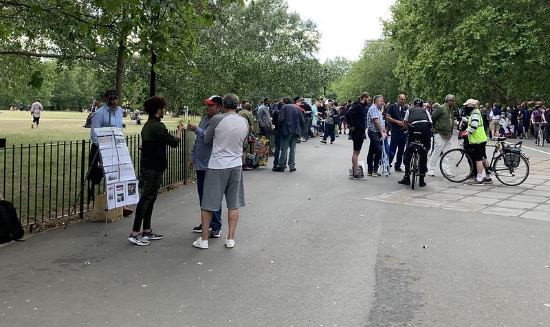 Speakers Corner - all iPhones and YouTube now