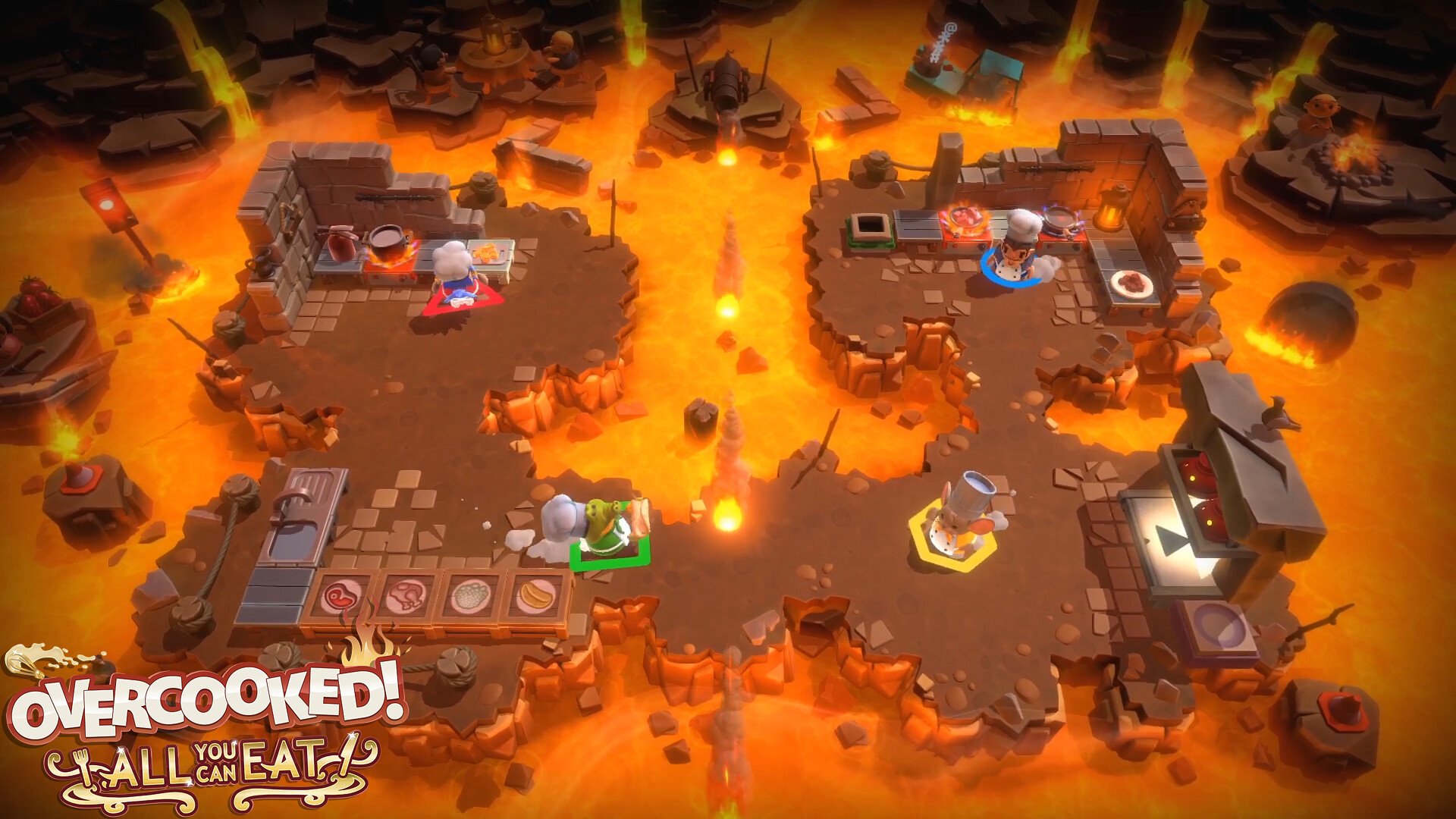 Overcooked! All You Can Eat is a visual feast for PS5 – PlayStation.Blog