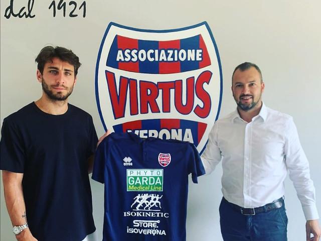 Filippo Pittarello nuovo calciatore della Virtus