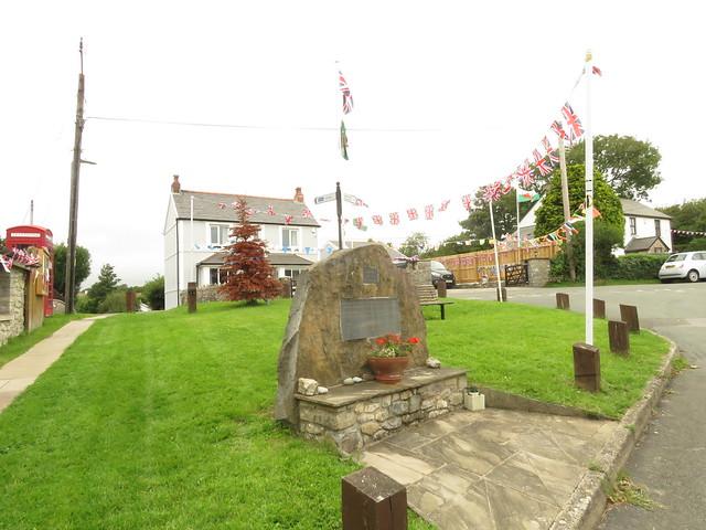 Colwinston War Memorial. Lest We Forget.