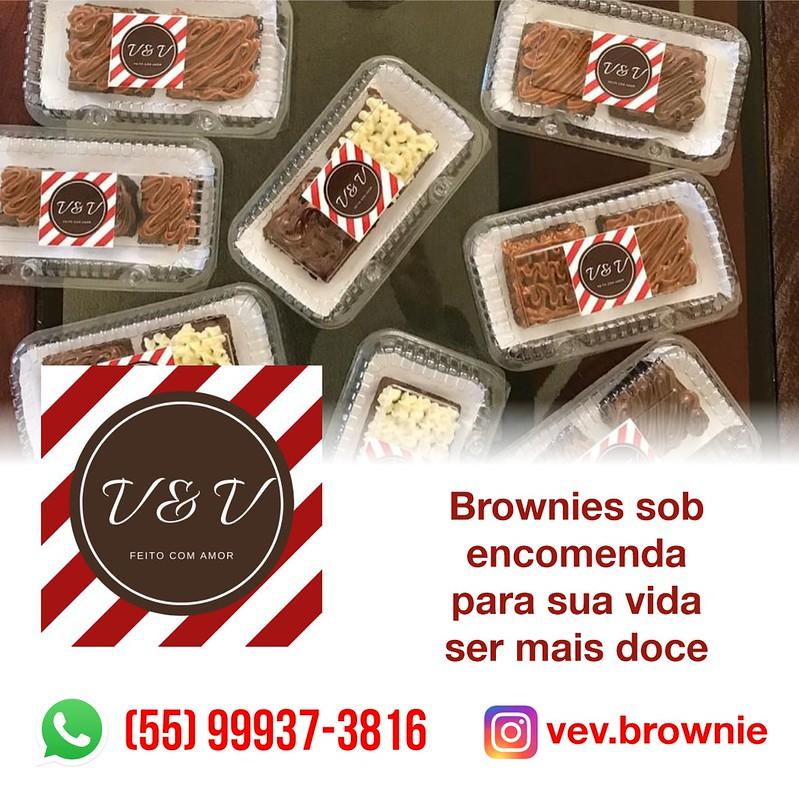 V&V Brownie - para sua vida ficar mais doces - brownies por encomenda em São Gabriel