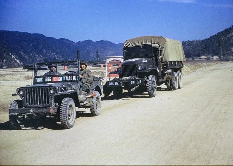 Korean war Turk Brigade