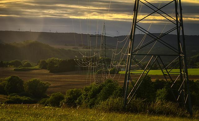 power line...