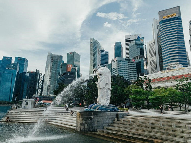 Merlion is the symbol of Singapore