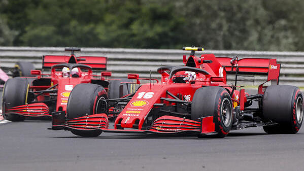 What Vettel did better than Leclerc