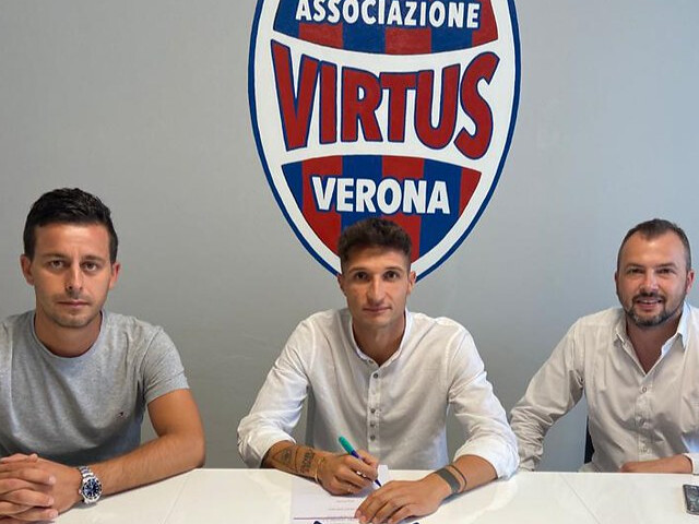 Andrea Delcarro nuovo calciatore della Virtus