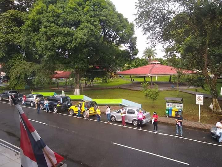Manifestación Guácimo