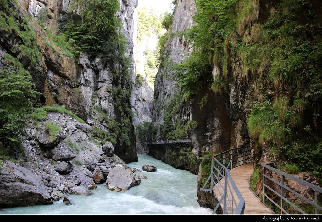 Aareschlucht, Berner Oberland, Switzerland