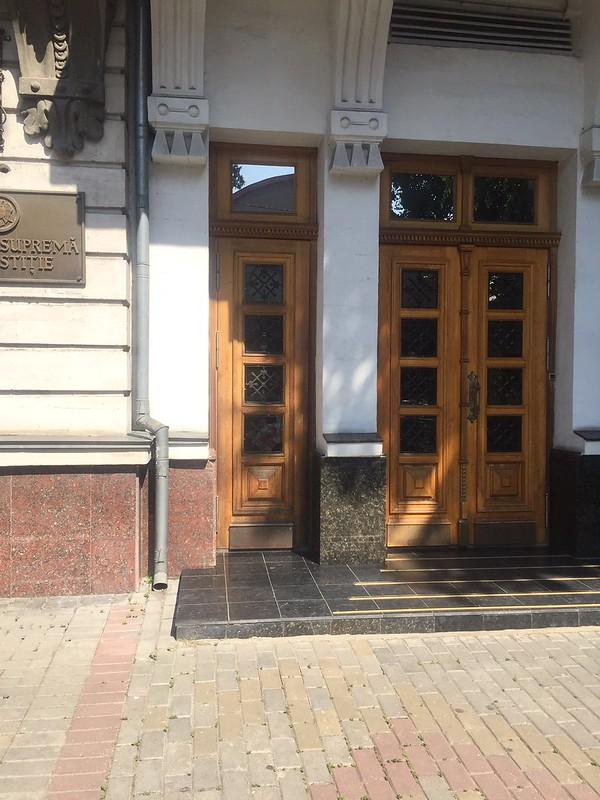 CDPD a evaluat accesibilitatea Curții Supreme de Justiție, blocul Colegiului Penal (str. M. Kogălniceanu 70, mun. Chișinău)