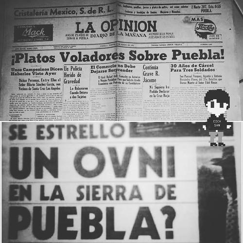 En Puebla nos gusta mirar al cielo y ellos lo saben. * * * * #ufo #puebla #ovni #mexico #alien #ufologia #atlixco #cholula (en Puebla, Mexico) https://ift.tt/39eesxt