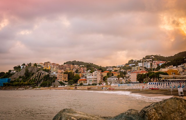 Another view of my hometown. Riviera Ligure, Albissola Marina