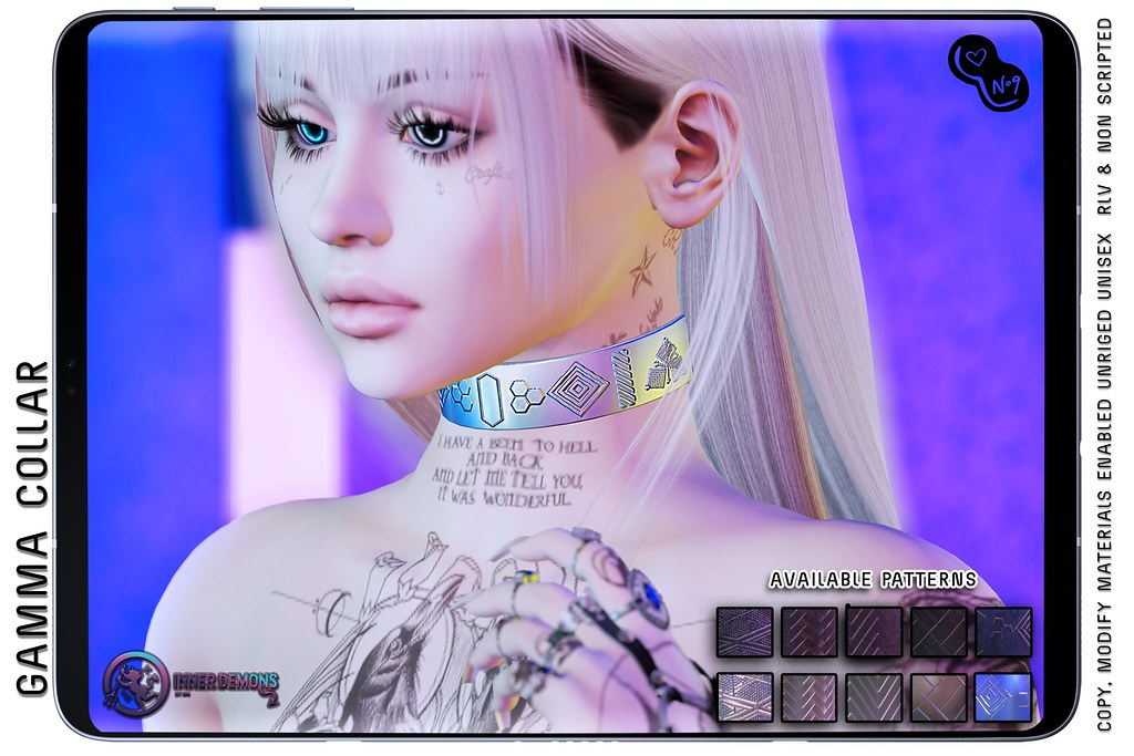 {ID} Gamma Collar @ MAINFRAME