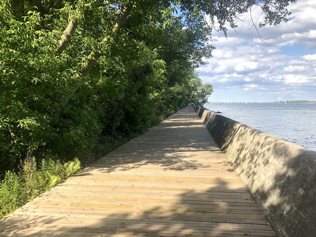 Centre Island boardwalk