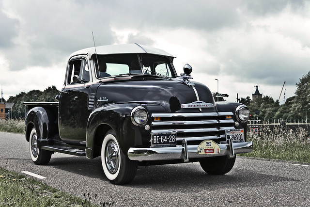 Chevrolet 3100 Pick-Up Truck 1953 (7009)