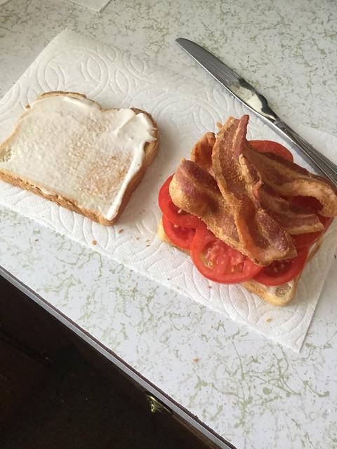 B T on toast