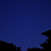 July easterly night sky