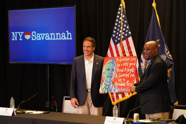 Governor Cuomo, Joined by Savannah Mayor Van R. Johnson, Announces New York State to Establish Two Church Testing Sites in Savannah COVID-19 Hotspots